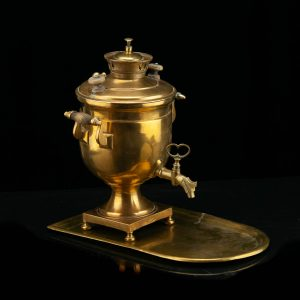 Antique Russian samovar - E. Puhskovo