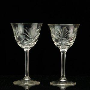 Antique Estonian wine glasses