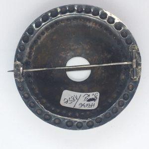 Antique Estonian silver brooch , mastermark J.K