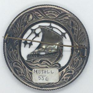Metallist sõlg ´´Viikingilaevaga´´