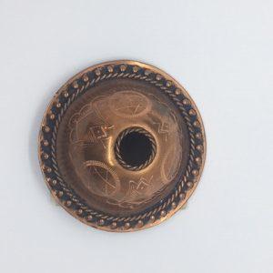 """Vintage Esonian brooch """"UKU"""""""