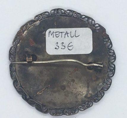 Metallist sõlg -pross