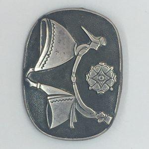 Estonian vintage brooch