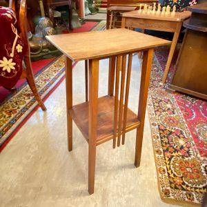 Art Nouveau wood stand