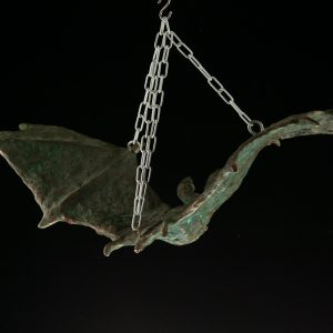 "Tauno Kangro sculpture ""Bat"""