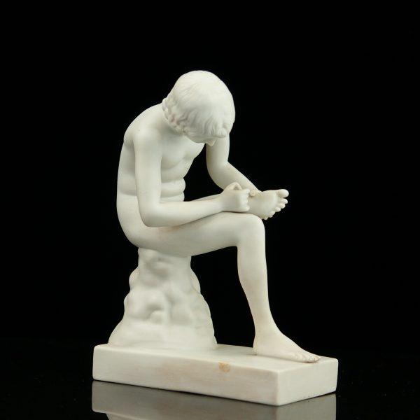 Biskviit-portselanist figuur