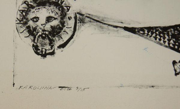 Alo Hoidre (1916-1993) Karoliina 1984a