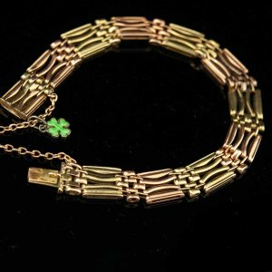 Imperial Russian gold bracelet