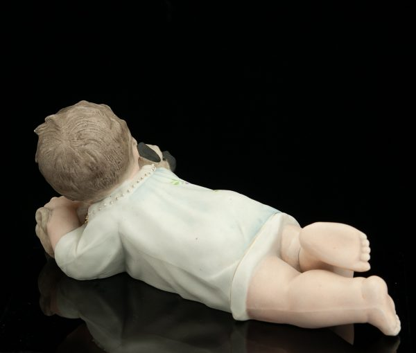"Antiikne biskviitportselan kuju ""Piano dolls"""