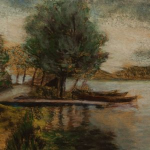 Ellinor Aiki (Blumenfeldt)1893-1969 Jõemaastik