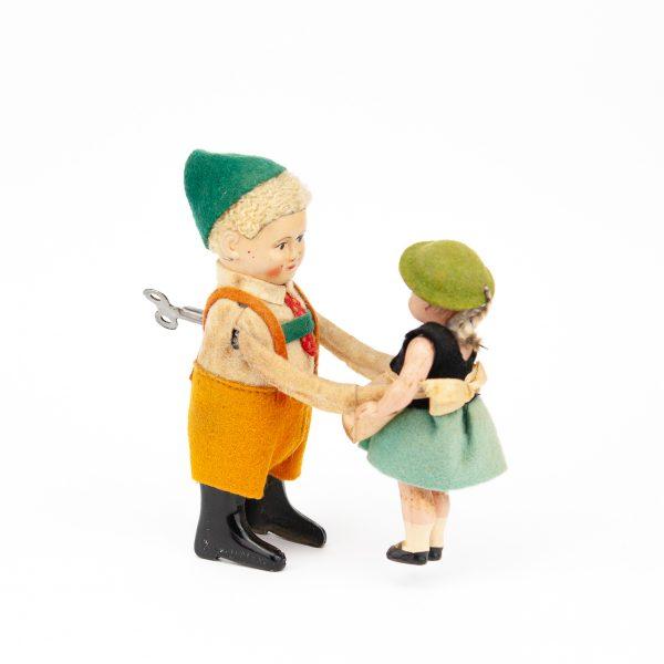 Antiikne üleskeeratav mänguasi