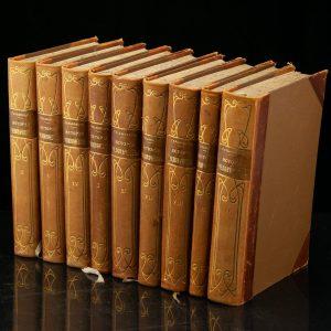 Antiikne Vene raamat Istoria tšelavetšestva 1904a 1-9 osa