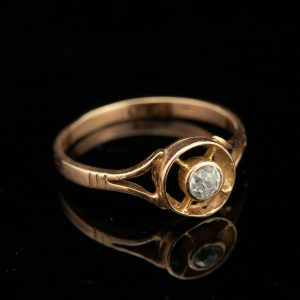 Antique Russian gold ring