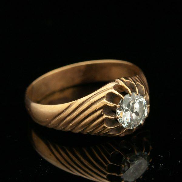 Tsaari-Vene sõrmus, 56 kuld, 0.72 briljant