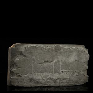 "Anique print block ""ship"""