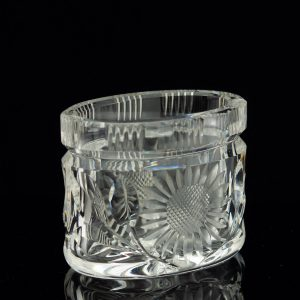 Antique Estonian crystal cigarette holder
