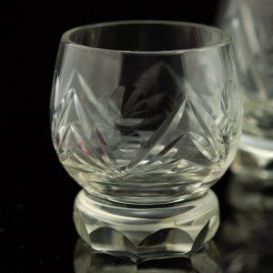 Estonian Tarbeklaas liqueur glasses set of 9 by Helga Kõrge