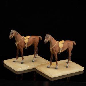 Antiiksed figuurid - Hobused 2 tk.