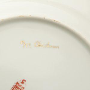 Estonian ARS porcelain plate