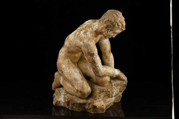 Ferdi Sannamees (1895-1963) skulptuur,kips 1936