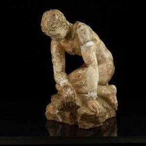 Ferdi Sannamees (1895-1963) plaster sculpture, 1936