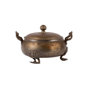 19th century Russian antique copper bowl