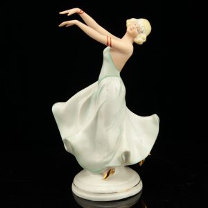 German porcelain figure of a dancer