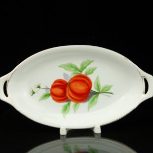 Langebraun porcelain tomato dish
