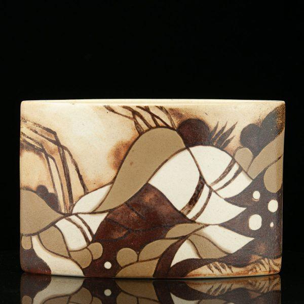 Liina Roomet (1957-2007) keraamiline vaas 1980a
