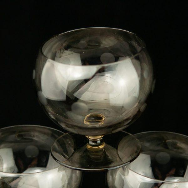Tarbeklaasi morsiklaasid 6tk KOSMOS Helga Kõrge 1970a