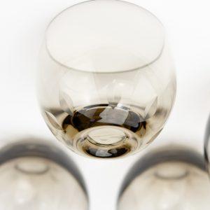 Set of 5 Estonian TARBEKLAAS glasses