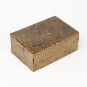 Antiikne kaardikarp, metall