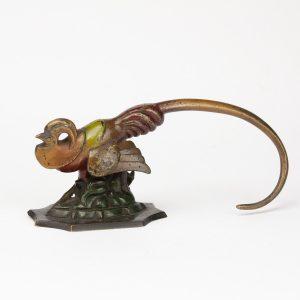 Antique Vienna bronze bird figure