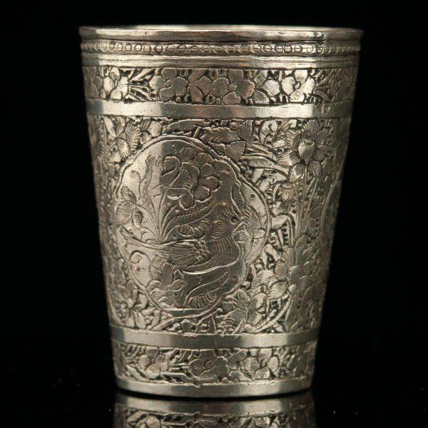 Antique 19th century metal cup