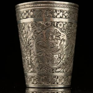 Antique 19th century metal cup