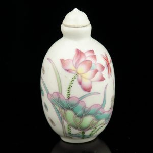 Porcelain perfume bottle