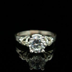 Sõrmus, 925 hõbe, mäekristall