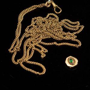 Antique pocket watch chain