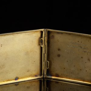 Antique 800 silver cigarette case