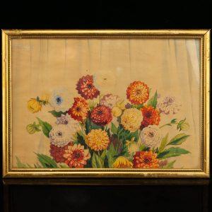 Aleksander Grinev (1892-1947) akvarell,paber Astrid  1933a