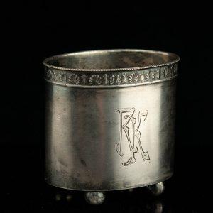 Estonian 875 Silver cigarette cup