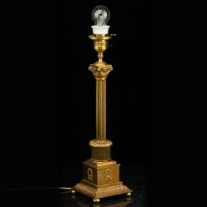 Antique bronze table lamp