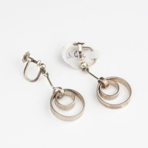Swedish silver earrings