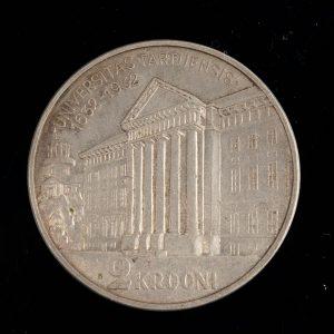 Estonian silver coin 2 krooni 1932