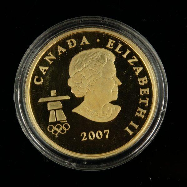 "Kanada kuldmünt 2007 ""Vancouver 2010"""