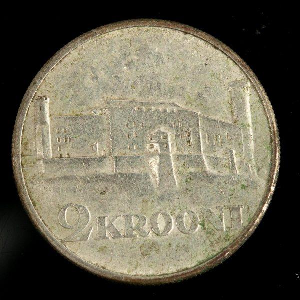 """EW 2 kroonine münt """"Toompea"""" 1930"""