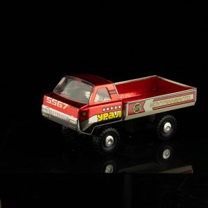 URAL tin toy car