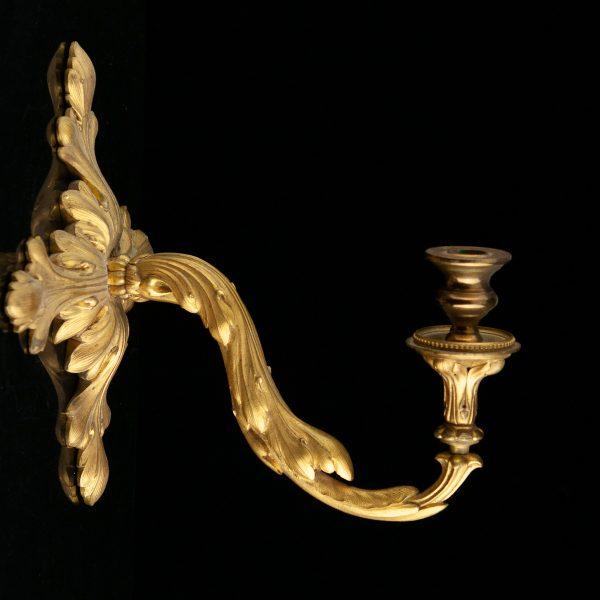 Antiikne ampiirstiilis küünlajalg, 5 küünlale
