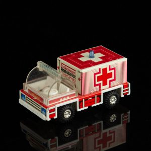 German tin toy ambulance car
