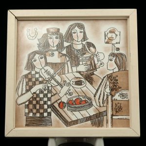 ARS ceramic wall tile, Elg Reemets